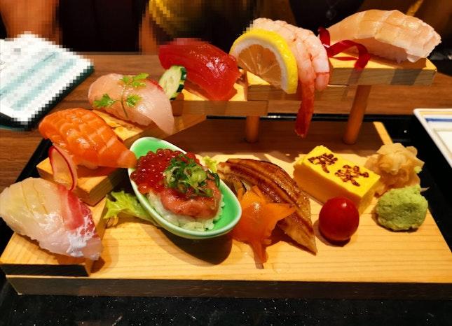 Nilgiri Sushi Set (25.80sgd)