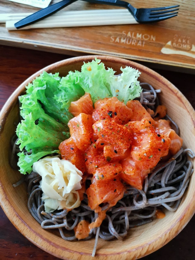 Spicy Poké Bowl (9.90sgd)