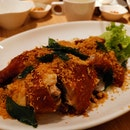 Deep Fried Chicken with Garlic (16.90sgd)