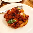 Sweet & Sour Pork with Lychees (14.90sgd)