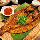 Grilled Seabass with lemongrass (22.90sgd)