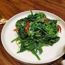 Stir Fried Chayote Leaves (13.90sgd)