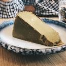 Hojicha Burnt Cheesecake ($8.50)