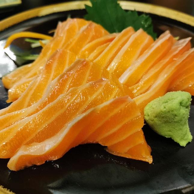 Sake Salmon Sashimi (1 for 1)