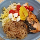 Teriyaki Salmon Signature Bowl ($14)