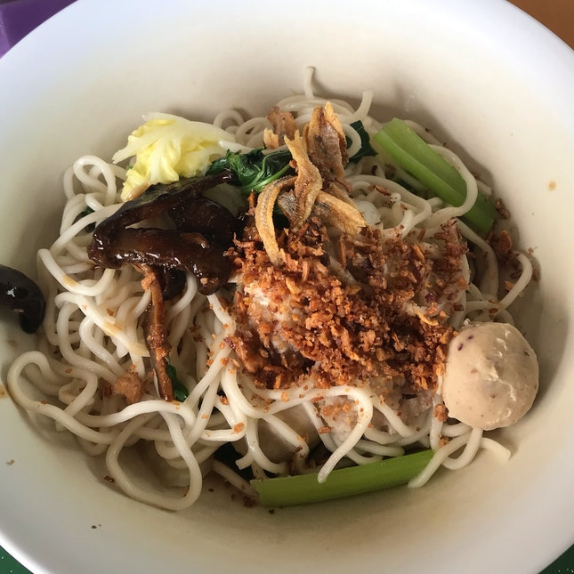 Dry Chilli Homemade Noodles [$4]