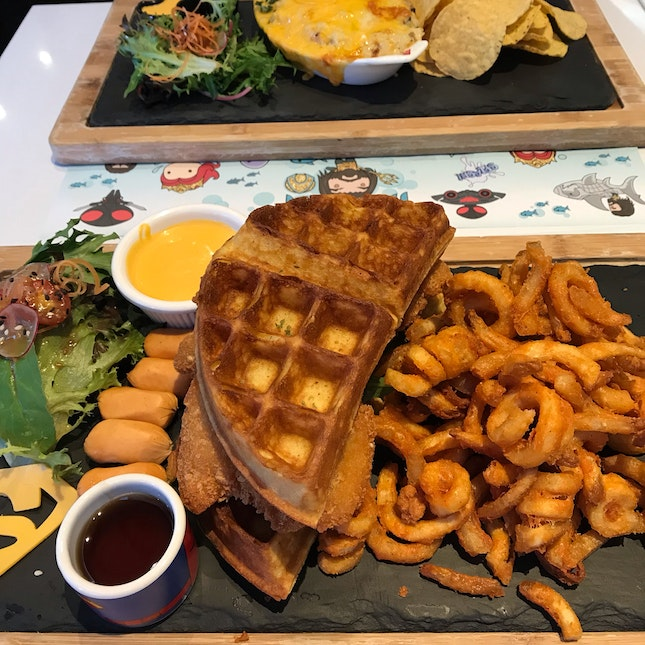 Doomsday Chicken Waffles