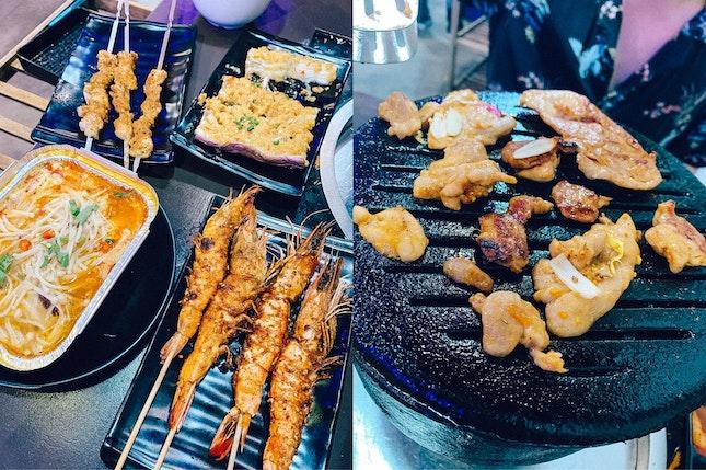 yummy grilled prawns 🍤