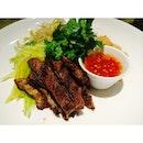 Deconstructed Thai Beef Salad