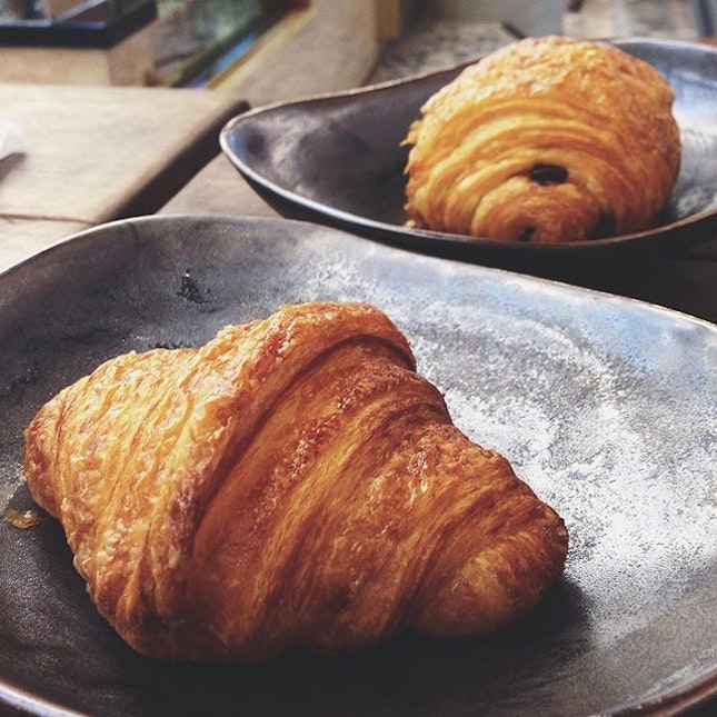 By far the best Croissant and Pain Au Chocolat I've tasted.