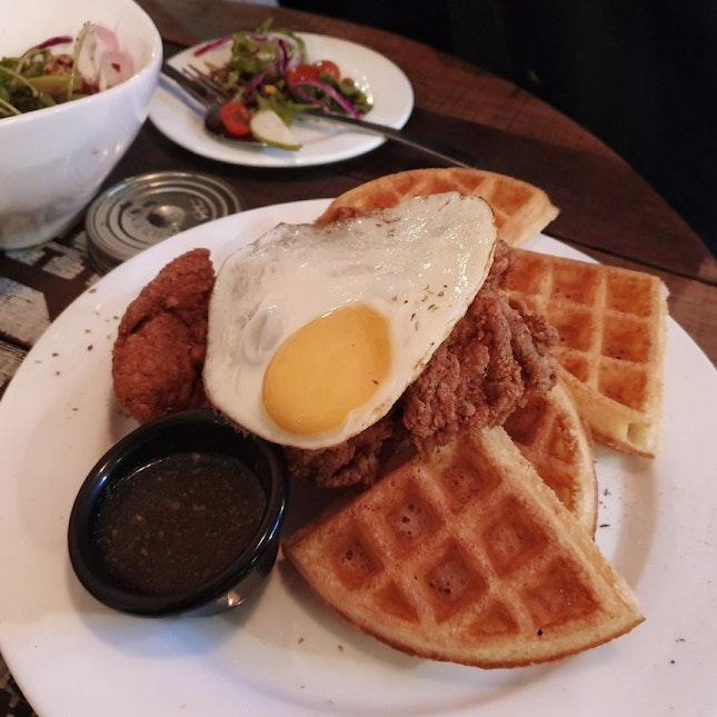 Waffles & Chicken