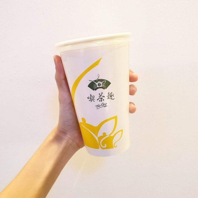 913 Oolong Milk Tea!