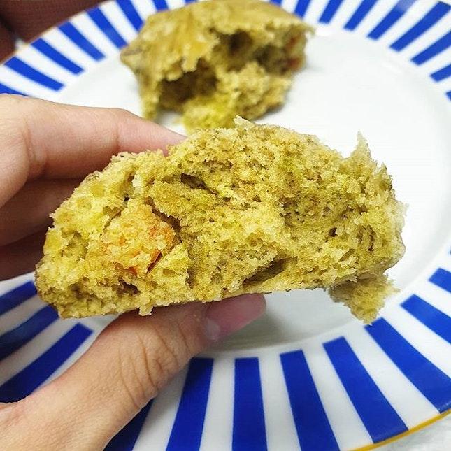 Green tea Oni-Manju.
