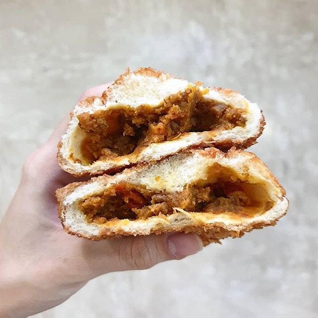 Curry Donut from Asanoya!