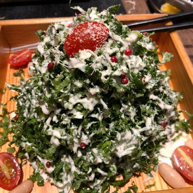 Go for Kale salad
