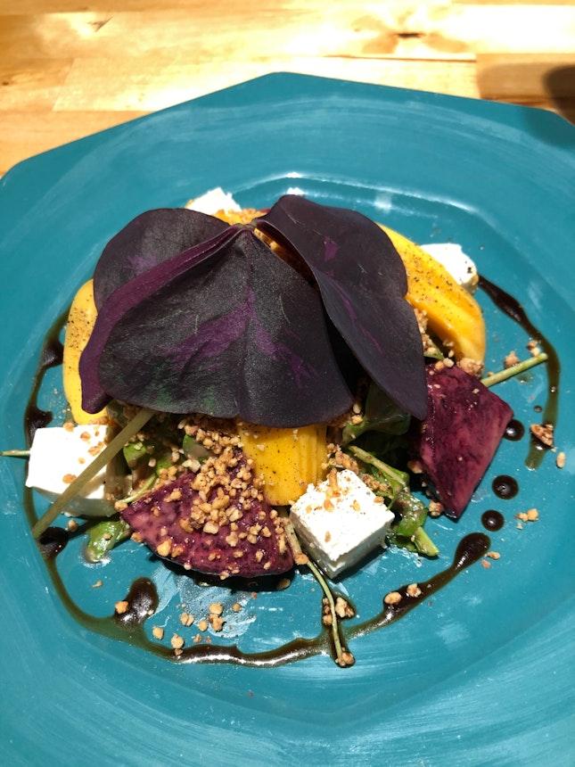 Beetroot n feta salad