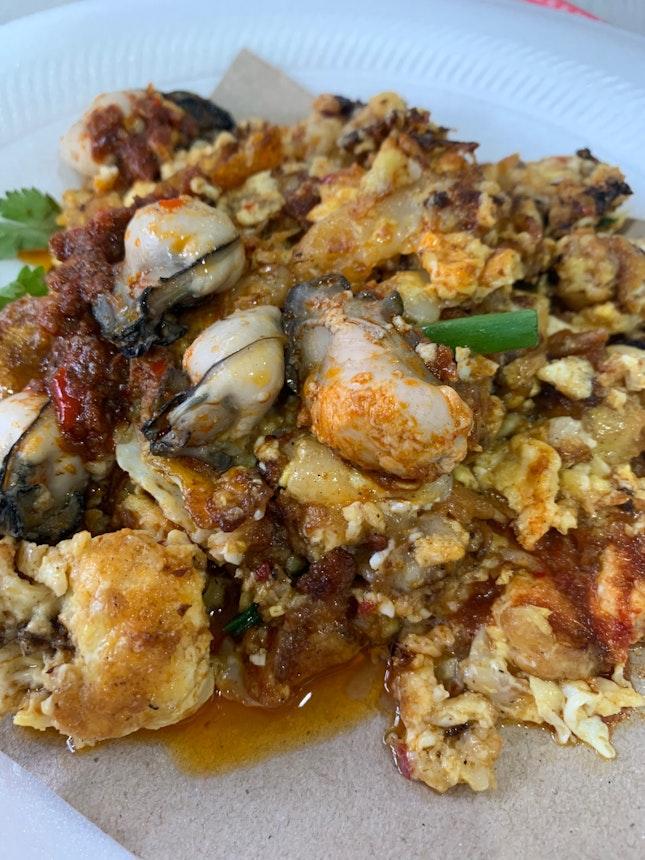 Fried Oyster Orh Luak