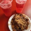 Yummy Rojak Stall ($3) & Stewart Fruit Juice Stall ($2)