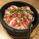 Pepper Beef Rice In Stone Pot Set ($9.90)