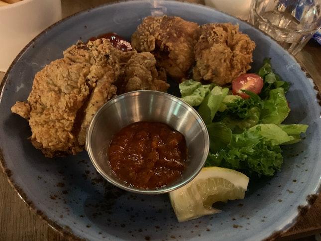 Buttermilk Fried Chicken (3/5)