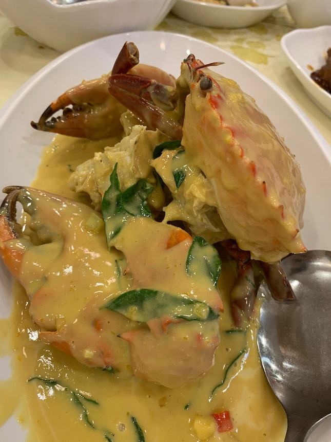 Salted Egg Crab ($77)