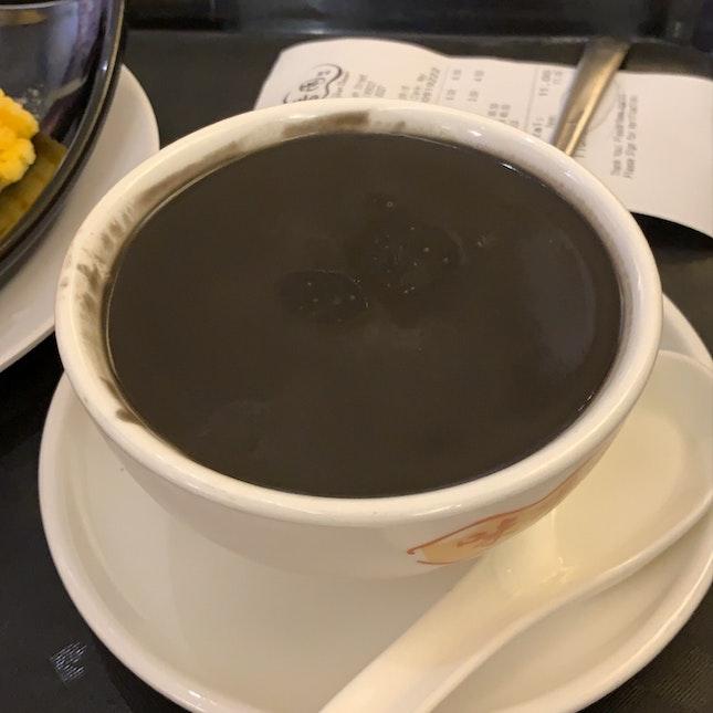 Black Sesame Paste With Tang Yuan ($4.50)