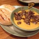 Nando's Chicken Liver and Portuguese Roll