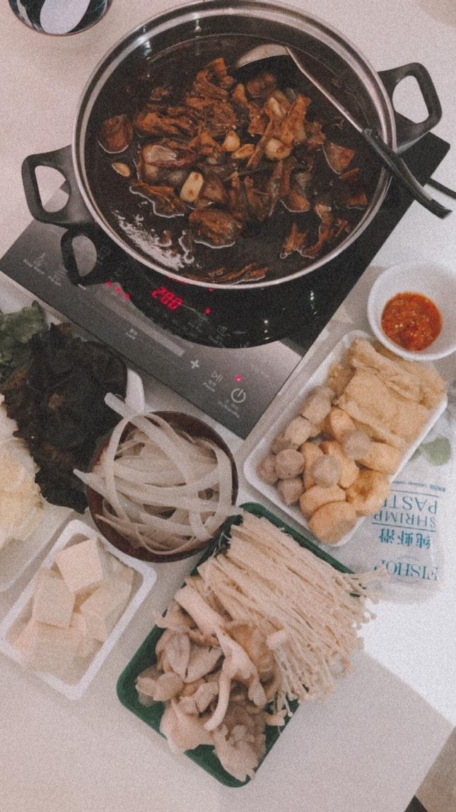 Qi Xiang Chicken Pot