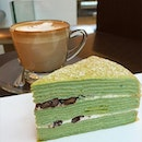 Coffee and cake after doing an eyelash expansion @vainbeautysg (so happy with the result!