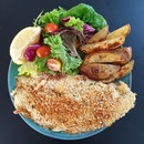 Herb Crusted Dory