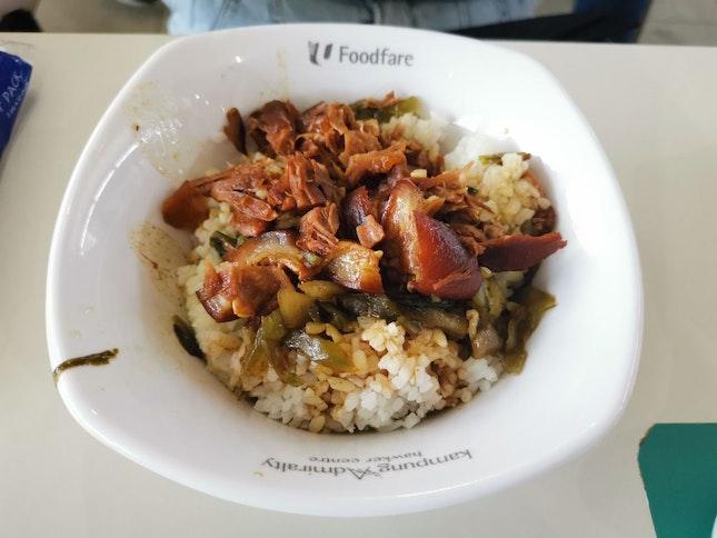 Braised Pork Rice (Xi Wang Bak Kut Teh)