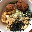 Hakka Tofu Bowl ($5.50)