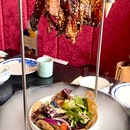Bakkwa Bacon Salad ($34)