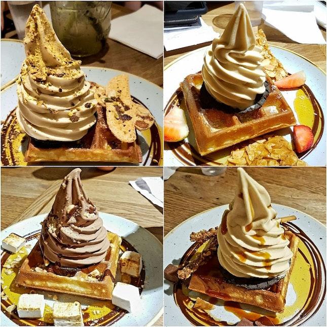 Waffles and Softserve