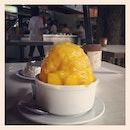 早晨〜 捞一捞😘 @robbie_goh  #breakfast #ice #mango #kepong #desert #saturday #chor7 #cny