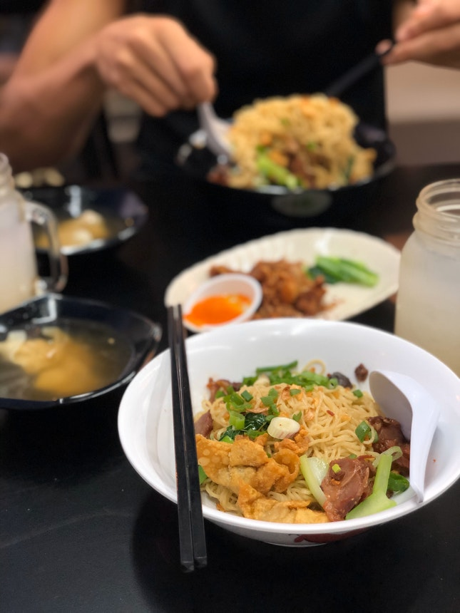 Satisfied my Thai wanton mee cravings