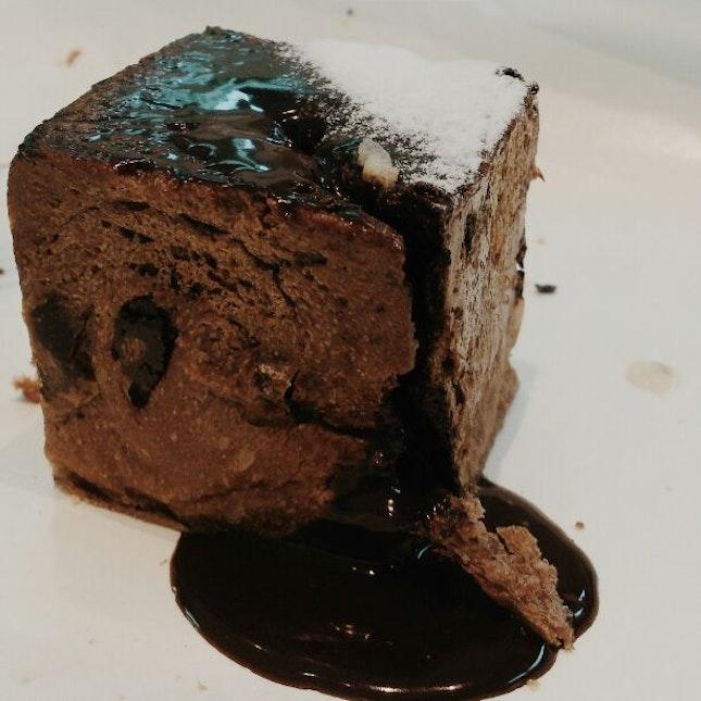 Chocolate Lava Cube