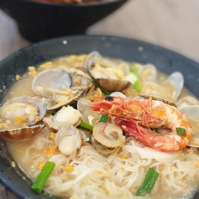 XO Seafood Bee Hoon @Fresh XO Seafood