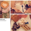 Enjoy my Sunday night with @tonyleong_84 at Coffee Société.