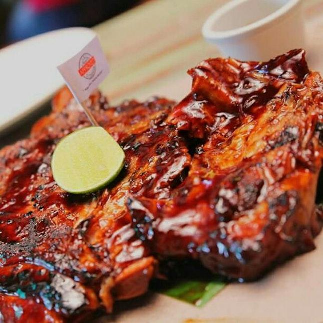 Pork ribs@Naugthy Nuri's