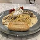 Premium Breakfast Truffle Pasta