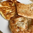Plain, Egg & Butter Prata