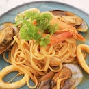 Great Tom Yum Pasta!