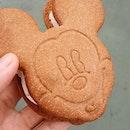 Mickey ice cream sandwich!