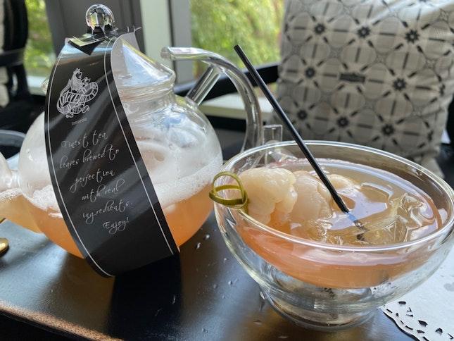 Iced Lychee Tea ($11)