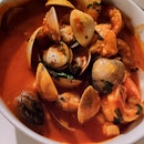 Seafood Stew Has Rich Intense Flavours