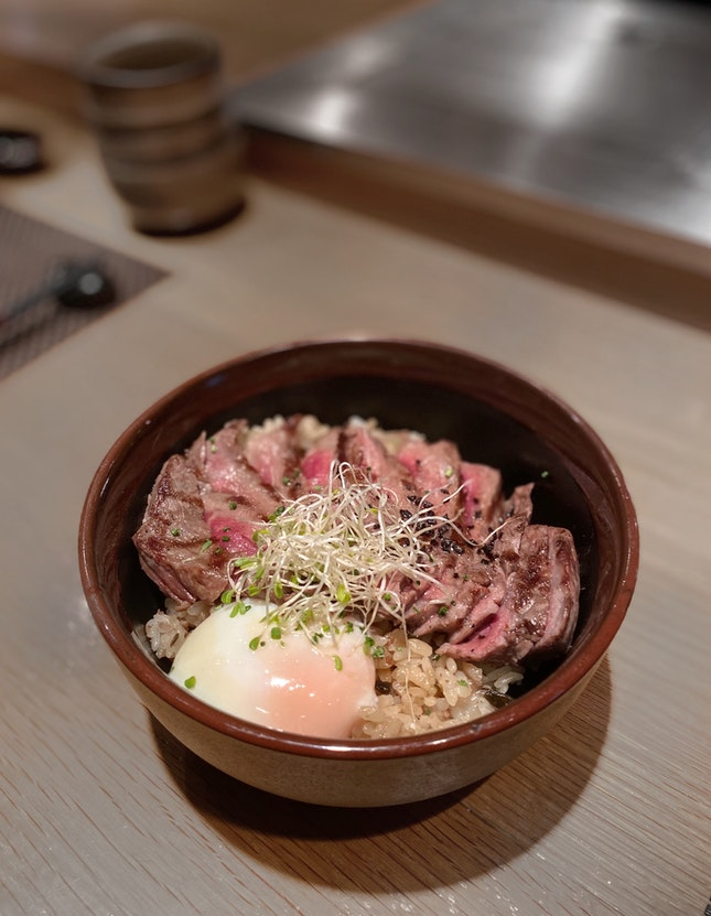 The Fat Cow Donburi ($48, as part of set lunch)