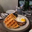 Chicken & Waffles ($20)