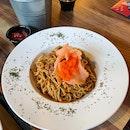 Crab Meat Aglio E Olio ($17)