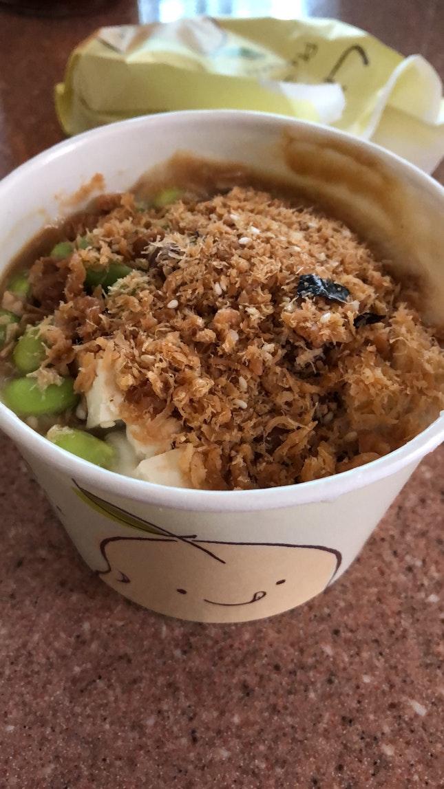 Peanut And Tofu Porridge